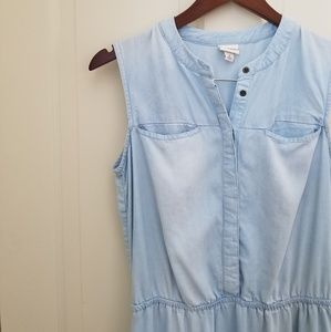 Denim Tank Top Dress